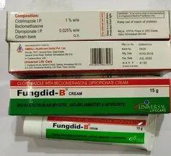 Fungdid-B Clotrimazole With Beclomethasone Dipropionate Cream, Universal Life Care, 15g