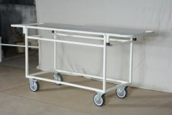 Hospital Stretcher on Trolley