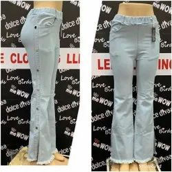 Regular Blue Ladies Denim Jeans, Waist Size: 28 to 34