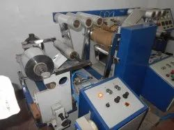 Narrow Web Hard Embossing Machine With 360 Degree Shim Mounting Roller And Single Indian Compliance