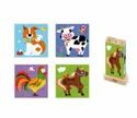 Stacking Cube Puzzle Animal