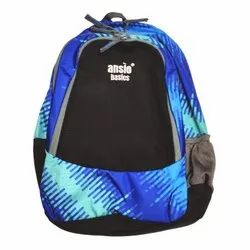 School Back bag -Black with Blue