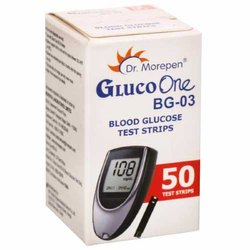 Gluco One Strips, Sugar Test Kit