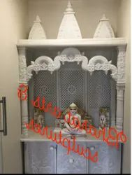 Indoor White Marble Temple
