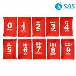 Kids Numbered Bean Bag Set (Set Of 10)