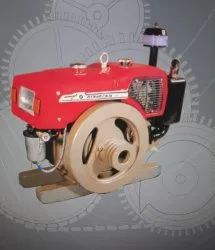Horizontal 4 Stroke Single Cylinder Diesel Engine O.H.V.