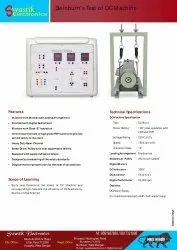 Digital Mild Steel Swinburns Test Of DC Machine Setup, Model Name/Number: SE677