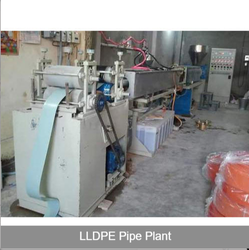 Lldpe Delivery Hose Pipe Plant