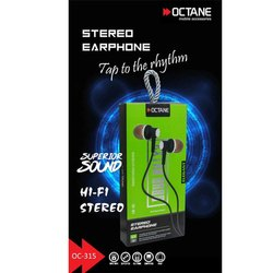 Wired Octane Hi-Fi Stereo Headphone, Model Name/Number: OC-315