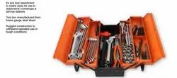 Groz Mtb/5/84/Au, Heave Gauge Steel Sheet 5 Tray Cantilever Tool Box With Tools