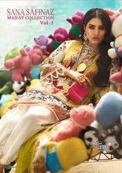 Shree Fabs Sana Safinaz Mahey Collection Vol-3 Pakistani Style Suits Catalog