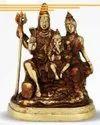 1640 gm Brass Statue Shivji Pariwar