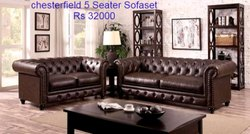 Chesterfield 5 Seater Sofa Set