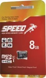 micro sd Speed 8gb Memory Card, Model Name/Number: SP-MC-1Y-8GB