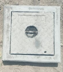 14x14 Inch Light Duty RCC Manhole Cover