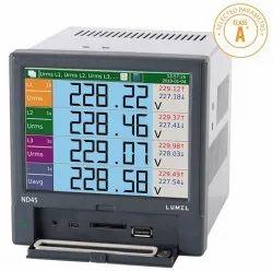 Class A Power Quality Network Analyzer / Recorder ND45