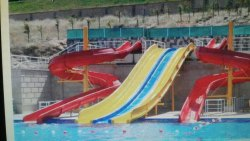 WATER PARK FRP Wide Slide