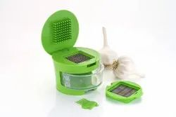 Garlic Cutter/Chopper Or Crusher Made From Food Grade Plastic