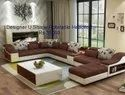 Designer U Shape Rotatable Headrest Sofa Set