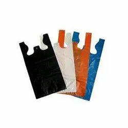 W Cut Plastic Carry Bag