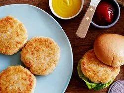 Peri peri chicken burger patty