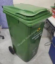 Wheeled Plastic Garbage Bin