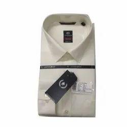 Cotton Zone Smart Fit K Men Plain Designer Collar Neck Shirt, Size: S-xxxl