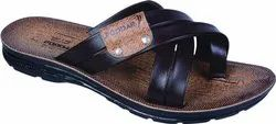 PODDAR GENTS PU SLIPPER GC-902