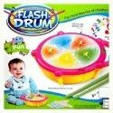 Electrobot Kids Multicoloured Flash Drum Set With Music And Lights Electronic