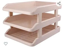 Plastic Deluxe Office Trays, (3 Tier), 1-10mm, Box