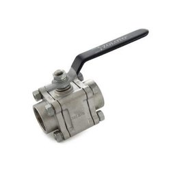 1081 SS Three Piece Design Ball Valve