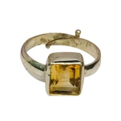 Citrine (Sunela) Ring