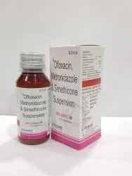 Ofloxacin Metronidazole And Simethicone Syrup