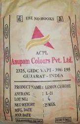 Lemon Chrome Pigment (Anupam Colours P Ltd)