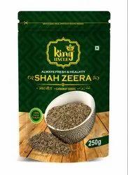 King uncle Black Caraway Seeds (Shah Jeera), Packaging Type: Carton, Packaging Size: 250g