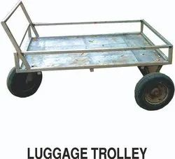 Stainless Steel Luggage Cart