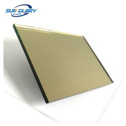Plain Brown 10 mm Tinted Glass