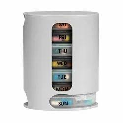 D0374_Pill Pro 7 Day Weekly Tablet Medicine Organizer Box