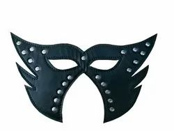 Leather Bat-Man Party Mask