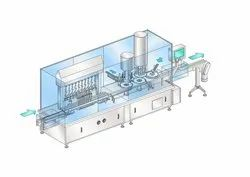 Liquid Filling And Capping Machine For Shampoo