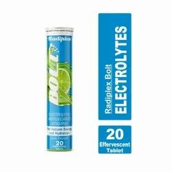 Electrolytes (ORS) With Antioxidant Effervescent Tablets