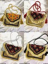 Designer Banjara Boho Bag With Leather Belt