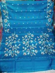itdas handloom woven design Designer Resome silk jamdani Saree, Without blouse piece, 5.5 m