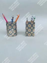 DIGITAL PRINTED RESIN PEN HOLDER