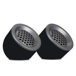 Black Plastic Zebronics Zeb-Pluto 2.0 Multimedia Speaker, 12W