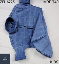 ZFL 6225 Kids Denim Shirt