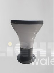 Lightwale Aluminium Round Landscape Gate Light LWLS010A, For Outdoor, 220V