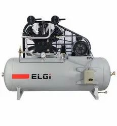 7.5 HP SS07 220L Elgi Single Stage Reciprocating Air Compressor