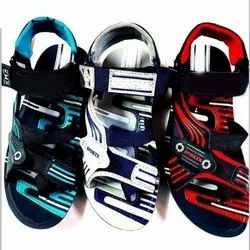 Casual Wear Mens Pu Sandal, Size: 6-9 And 7-10