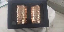 Copper Tumbler Set of 2